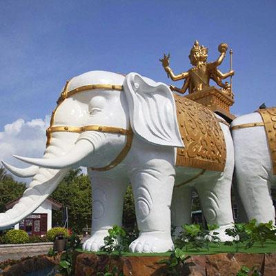 白象之神——傣族象崇拜