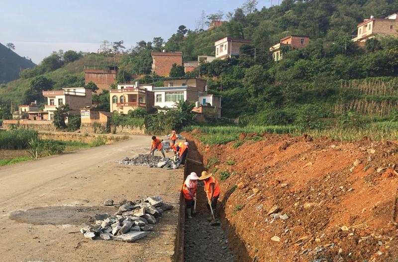 乡镇道路改造工程