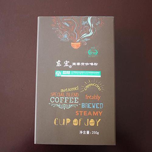 东宏牌焙炒咖啡粉250g/袋 +盒  75元