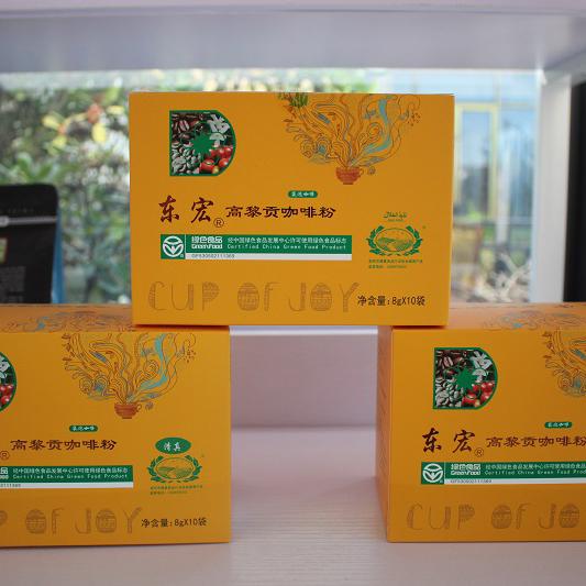东宏高黎贡咖啡粉